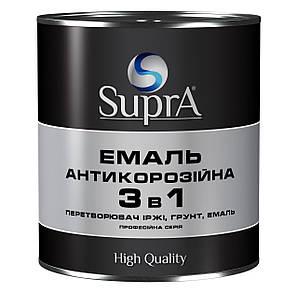 Емаль-грунт антикор. алкід. 3в1 зелена 0,8 кг Бурштин