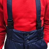 Штани утеплені, тк.Рейнар, т. синій, ЛІДЕР-1, фото 4