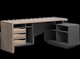 Комп'ютерний стіл Connect 2 1800х786х1120 мм дуб сонома трюфель + антрацит