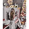 "Картина по номерам ""У камина"" 40*50 см, ТМ Идейка (КНО4638)"
