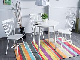 Стол обеденный  90х90 см Белый (LARSONB90)