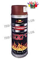 CHAMPION ТЕРМОСТОЙКАЯ ЭМАЛЬ 800 °C (красный ), фото 1