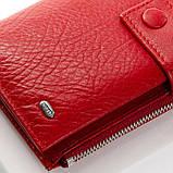 Кожаный кошелек DR. BOND WMB-1 red, фото 3