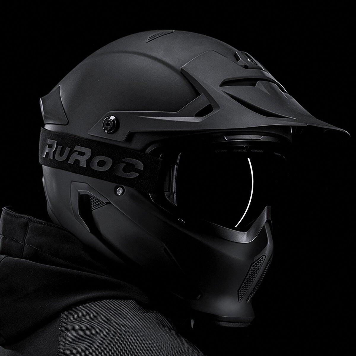 Мотошлем Ruroc Berserker Carbon - core