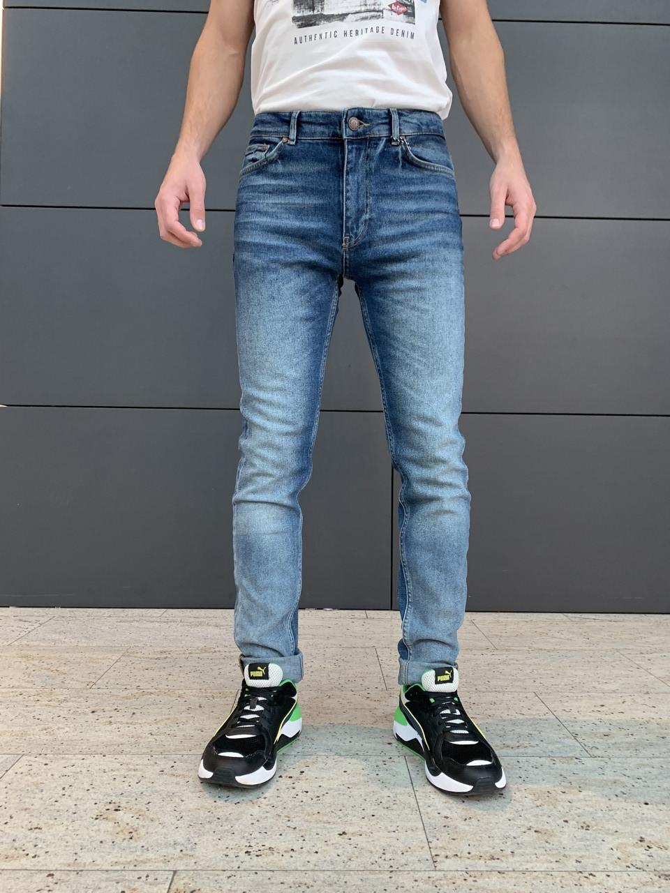 Мужские джинсы Wem Oscar 04-1003 slim tapered fit