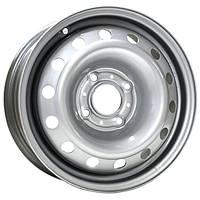 Steel 8114T R15 W6 PCD4x100 ET48 DIA54.1 Silver