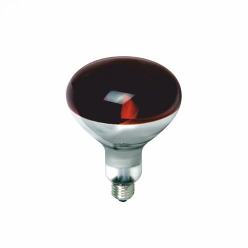 Лампа Червона 125W E27 В ГОФРЕ RIGHT HAUSEN