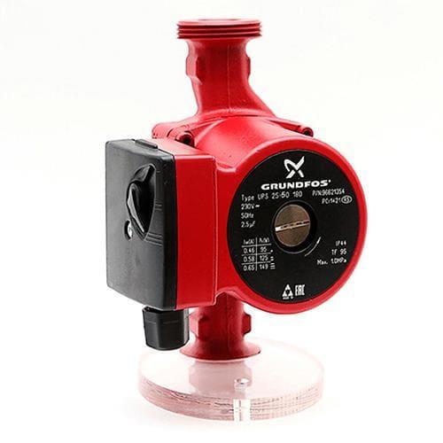 Циркуляционный насос Grundfos UPS 25-60 180, для Системы Отопления