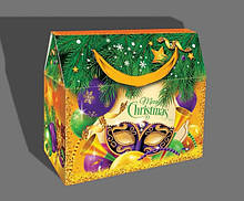 Новогодняя картонная упаковка для конфет, Символ года 2021