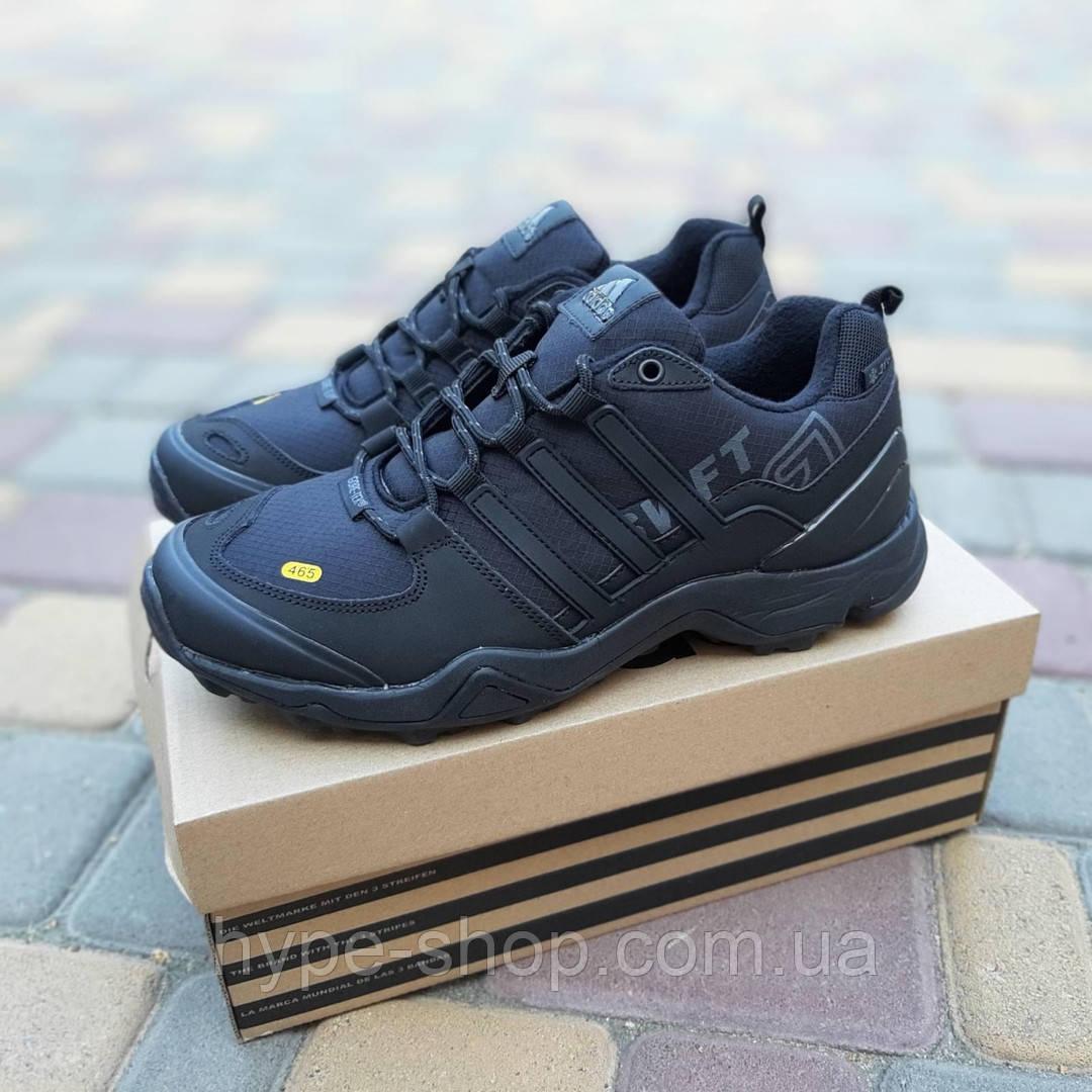 Мужские зимние кроссовки Adidas Terrex Swift 465 черный реплика