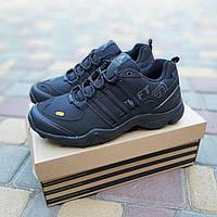 Мужские зимние кроссовки Adidas Terrex Swift 465 черный реплика, фото 1