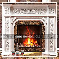 Декоративный каминный портал из гипса., фото 1