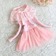 Платье детское розовое 7201, фото 1