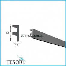 KF501 Молдинг полиуретановий для скрытого освещения  2,44 м