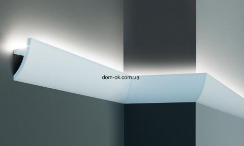 KF502 Молдинг полиуретановий гибкий для скрытого освещения  2,00 м