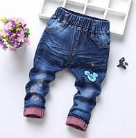 Джинсы детские темно-синие 9076, фото 1