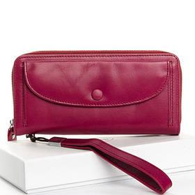 Женский кошелек-клатч DR. BOND WS-22 purple-red