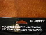 """Лосины  женские на байке """"Золото"""". Бесшовные. 1200 DEN. р. XL-5XL, фото 3"""