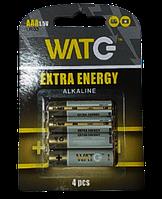 Батарейка ALKALINE ААА LR03  (4 в блістері) (ціна за блістер/4 шт) ИМПОРТ Ок