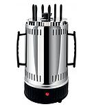 Электрошашлычница Domotec Ms-7781 1000 Вт 6 Шампуров Шашлычница, фото 3