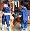 Стильный комбинезон джинс 3991