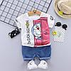 Летний костюм мальчика Doraemon 3994