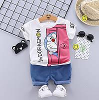 Летний костюм мальчика Doraemon 3994, фото 1