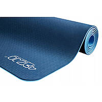 Коврик (мат) для йоги и фитнеса 4FIZJO TPE 6 мм 4FJ0033 Blue/Sky Blue
