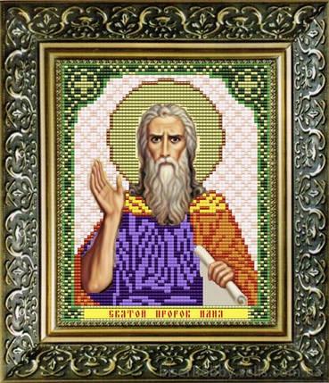 """Рисунок на ткани для вышивания бисером """"Святой Пророк Илия"""", фото 2"""