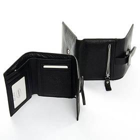 Маленький кошелек из кожи DR. BOND WS-21 black