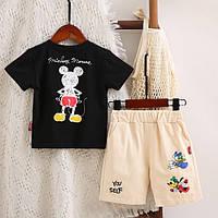 Летний костюм для мальчика Mickey черный 4042, фото 1
