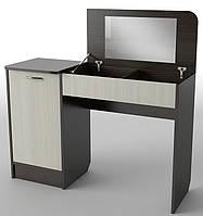 Будуарный столик Георгина размер стола (открытый) ― 1200х430х1160 мм.