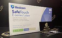 Медичні латексні рукавички не стерильні супер якості! Упаковка 100 шт / 50 пар Медіком