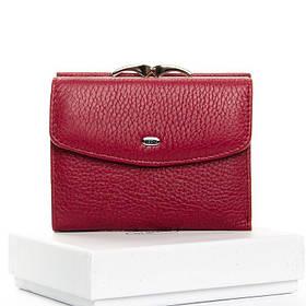 Женский маленький кошелек DR. BOND WS-11 purple-red