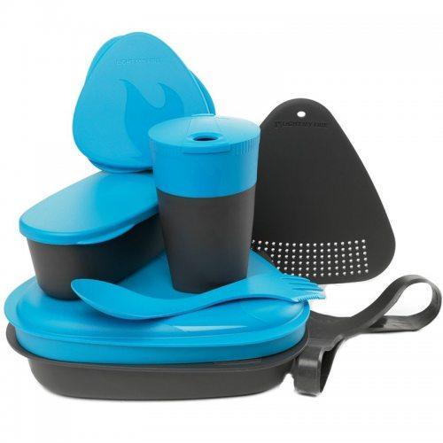 Набор посуды Light my Fire MealKit Bio (8 предметов) голубой