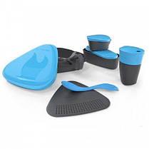 Набор посуды Light my Fire MealKit Bio (8 предметов) голубой, фото 3
