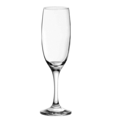 Набор бокалов для шампанского (6 шт.) 150 мл Imperial Plus 44819