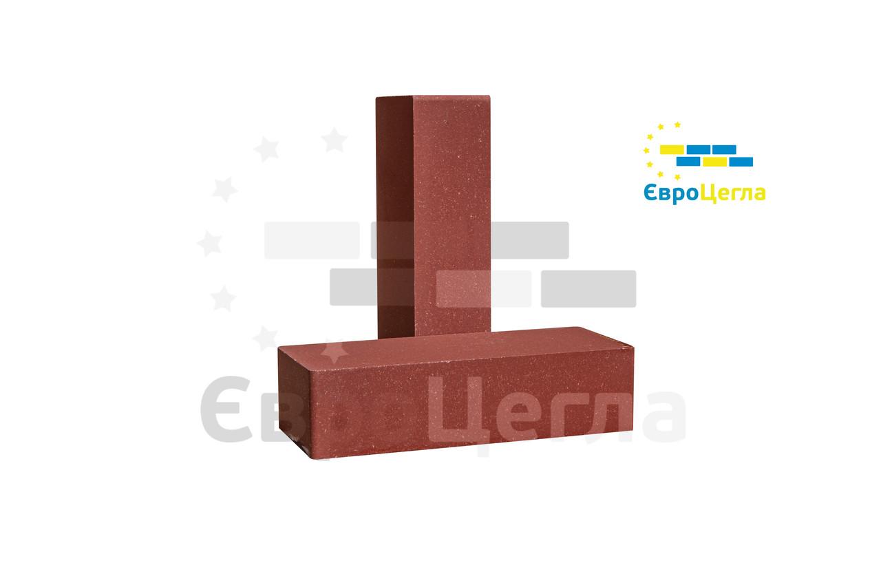 Кирпич облицовочный красный, фактура гладкая