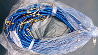 Резинка для кравчучки с двумя крючками, длина 1 м., 1,5м., 2 м.