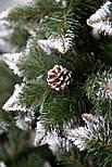 Искусственная Ель елка  Элит ПВХ  с калиной и шишками 1,5 м, фото 3