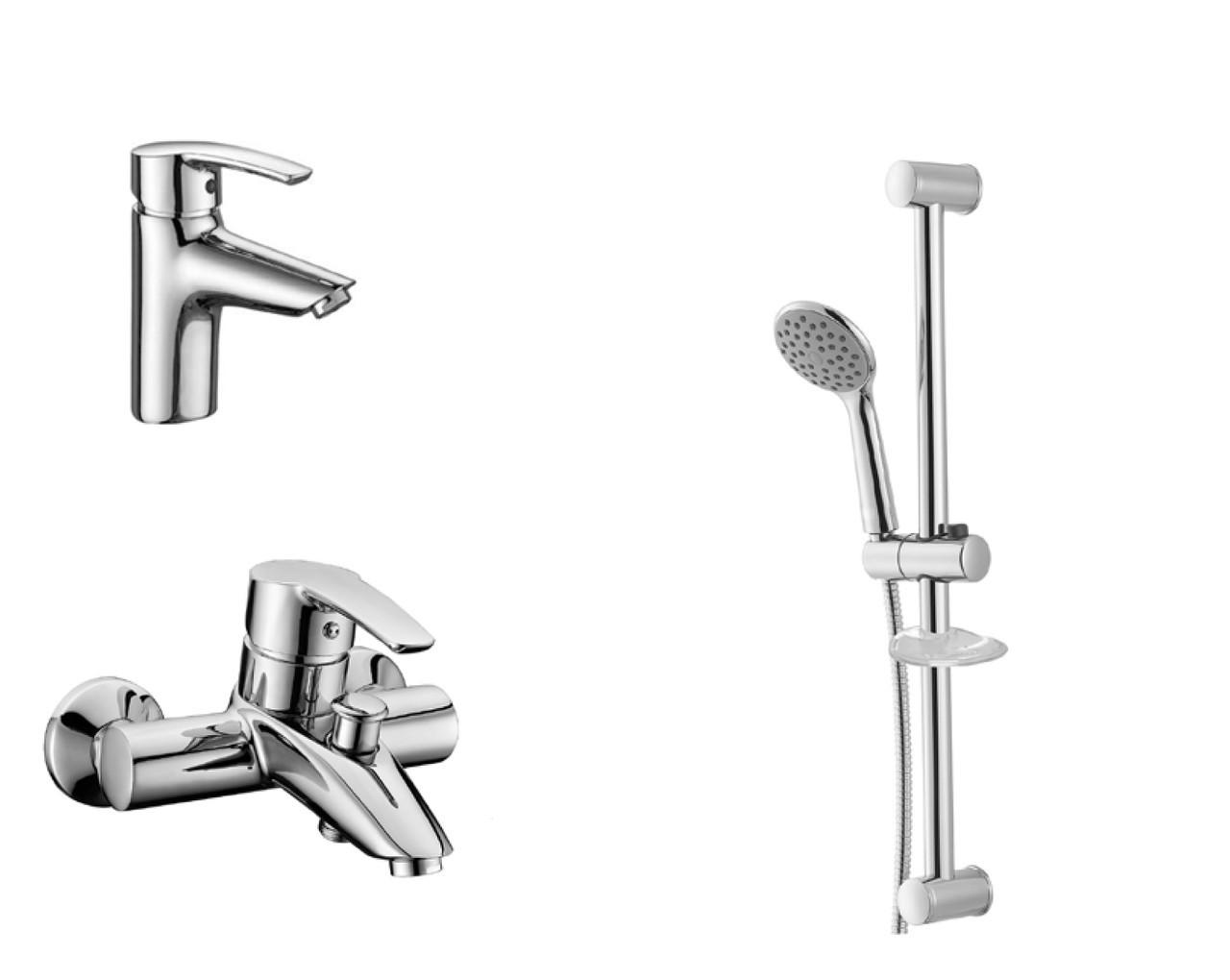 Набор смесителей для ванны 3 в 1 Imprese Horak 0510170670 хром