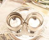 Два винтажных посеребренных бокала, серебрение по латуни, Испания, VALERO, фото 5