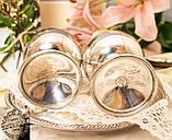 Два винтажных посеребренных бокала, серебрение по латуни, Испания, VALERO, фото 9