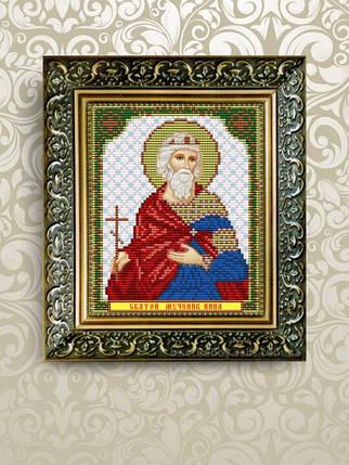 """Рисунок на ткани для вышивания бисером """"Святая Мученица Инна"""", фото 2"""