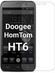 Защитное стекло Doogee HomTom HT6 (Прозрачное 2.5 D 9H) (Дуги Хомтом ХТ6)