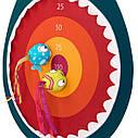 Развивающая Игра С Мишенью - Голодная Акула Battat Hungry Toss Shark Toys - Kids Dart Board BX1638Z, фото 3