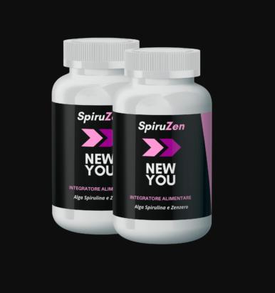 SpiruZen NewYou (СпируЗен НьюЮ) - капсулы для похудения