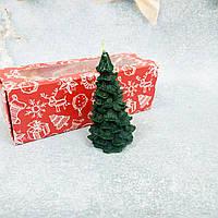 Свеча декоративная с маслами елка