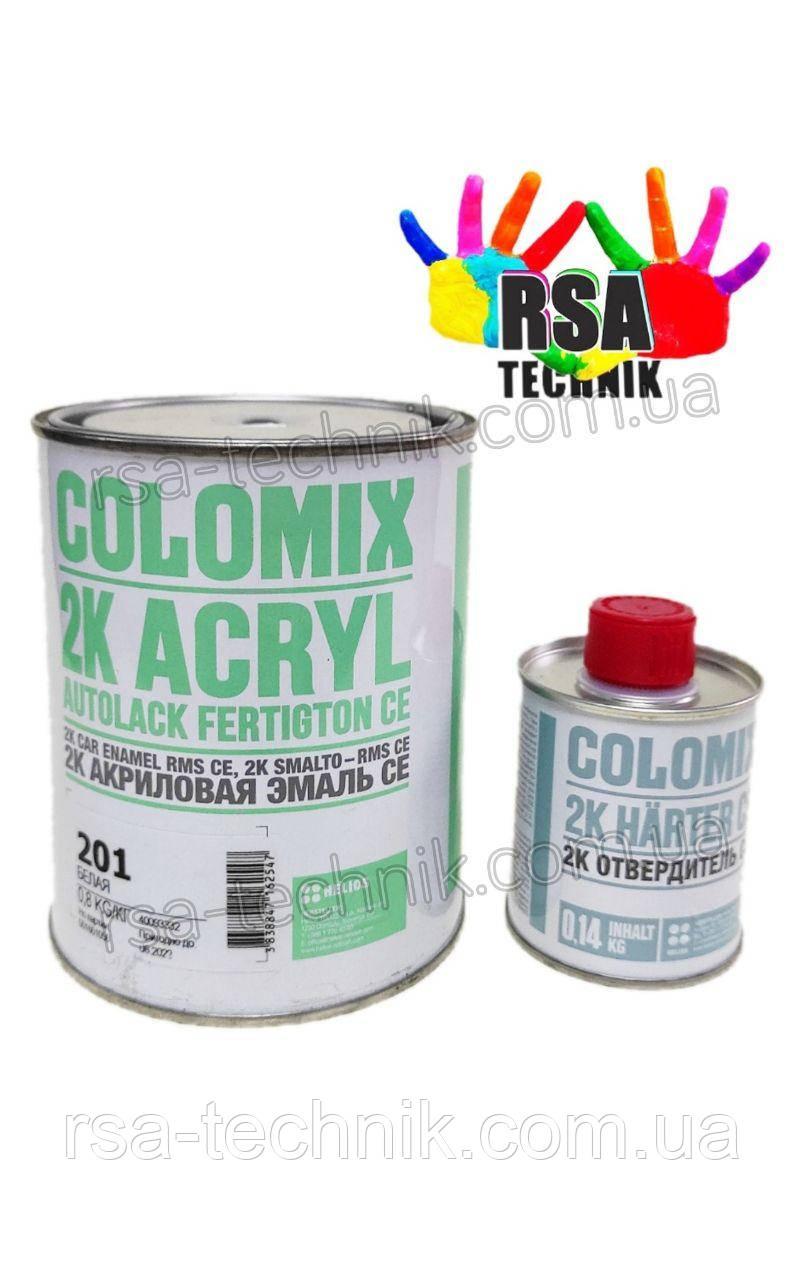 Colomix 2К акрилова емаль (Мурена 377) з затверджувачем