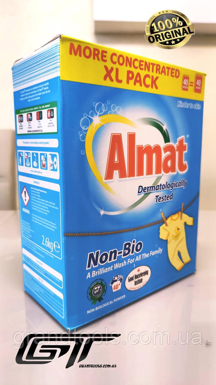 Пральний порошок Almat Non Bio 2,6 кг, Німеччина